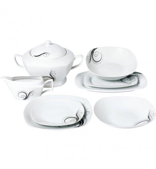 TADAR DOLCE VITA Serwis obiadowy 43 elementy dla 12 osób / porcelana