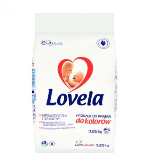 LOVELA Hipoalergiczny proszek do prania koloru 3,25 kg / 26 prań