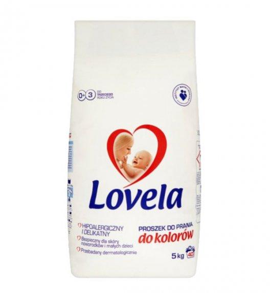 LOVELA Hipoalergiczny proszek do prania koloru 5 kg / 40 prań