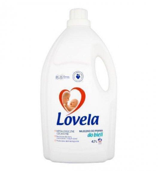 LOVELA Hipoalergiczne mleczko do prania białego 4,7 L / 50 prań