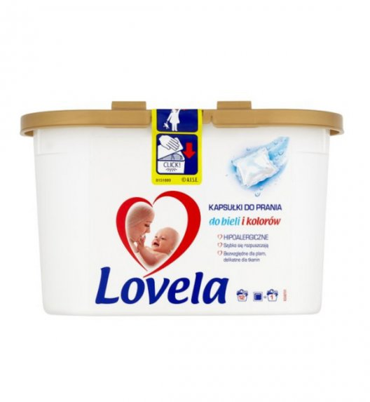 LOVELA Hipoalergiczne kapsułki do prania / 12 sztuk