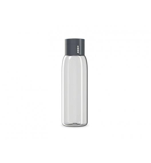 JOSEPH JOSEPH DOT Butelka na wodę 600 ml / szara / Btrzy
