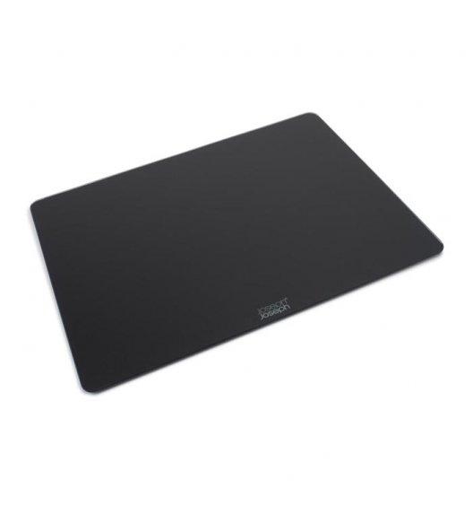 JOSEPH JOSEPH Prostokątna deska do krojenia 40 x 30 cm / czarna / szkło / Btrzy