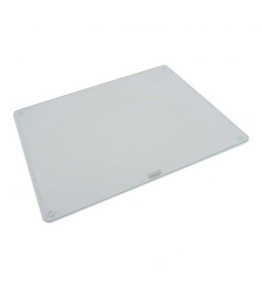 JOSEPH JOSEPH Prostokątna deska do krojenia 40 x 50 cm / przezroczysta / szkło / Btrzy