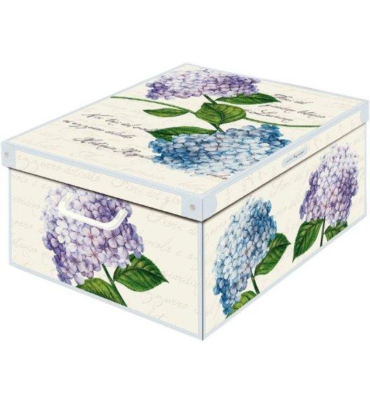 LAVATELLI HORTENSJE Pudełko ozdobne do przechowywania 39 x 50 cm / Wyprodukowano we Włoszech / KAMAI