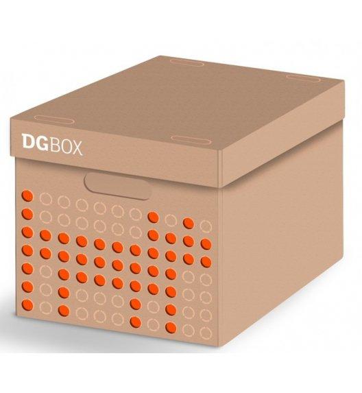 LAVATELLI DGBOX Beżowe pudełko ozdobne do przechowywania 32 x 42 cm / stwórz własny wzór / KAMAI