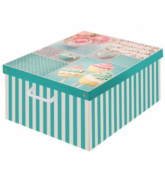 LAVATELLI BON-BON Pudełko ozdobne do przechowywania 39 x 50 cm / Wyprodukowano we Włoszech / KAMAI