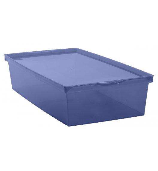 EDA CRYSTALINE Pudełko do przechowywania 33L / niebieskie / KAMAI
