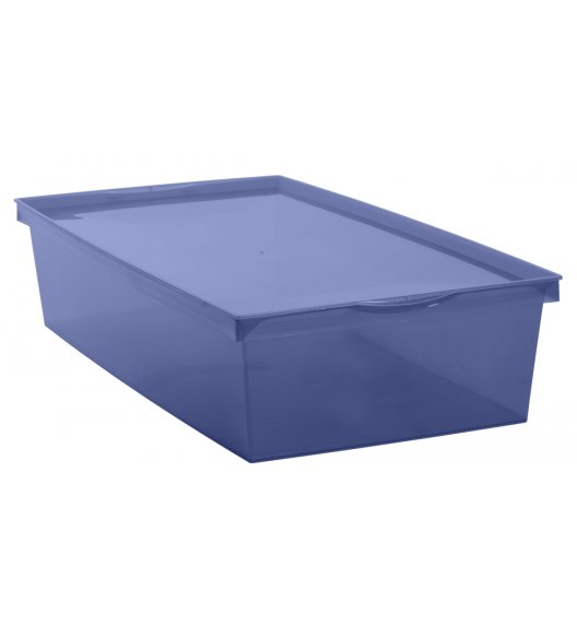 EDA CRYSTALINE Pudełko do przechowywania 18L / niebieskie / KAMAI
