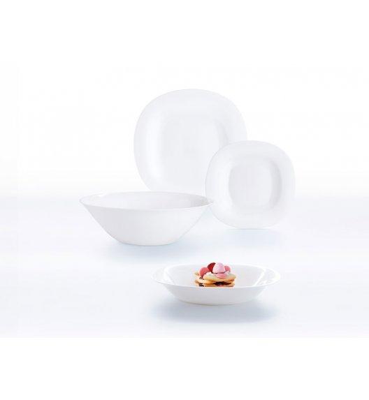 LUMINARC CARINE NEO WHITE Komplet obiadowy 19 el dla 6 os  / Wyprodukowane we Francji / Szkło hartowane / 06495