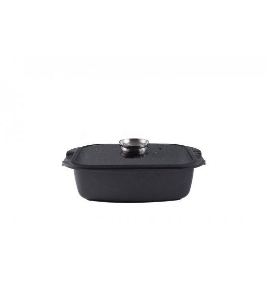 GERLACH GRANITEX Brytfanna 32 cm z pokrywką / 2 elementy / powłoka ILAG Granitec® / indukcja