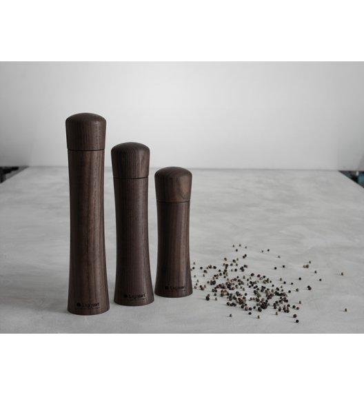 WYPRZEDAŻ! Legnoart Guno Drewniany młynek do soli/pieprzu, duży. Btrzy.