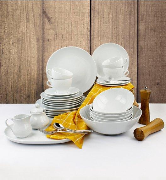 LUBIANA BOSS Serwis obiadowo - kawowy 34 el / 6 osób / porcelana