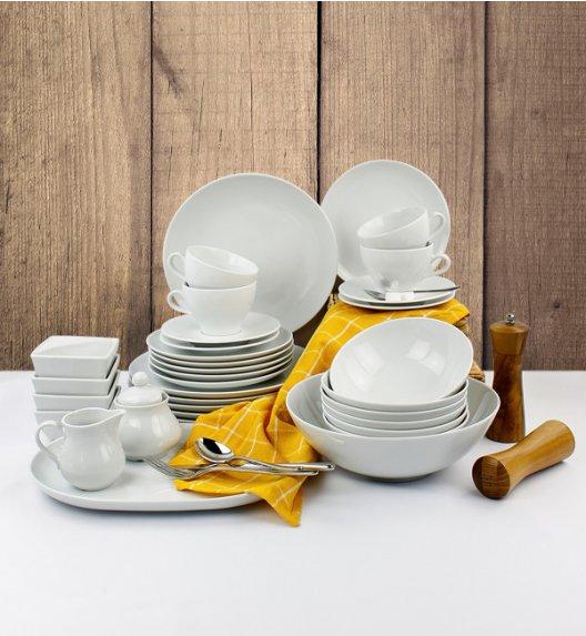 LUBIANA BOSS Serwis obiadowo - kawowy 38 el / 6 osób / porcelana