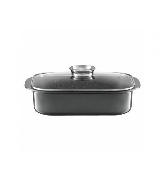 AMBITION GLAMOUR Brytfanna z pokrywą 40,5 x 25,5 cm / aluminium / szara / 83125