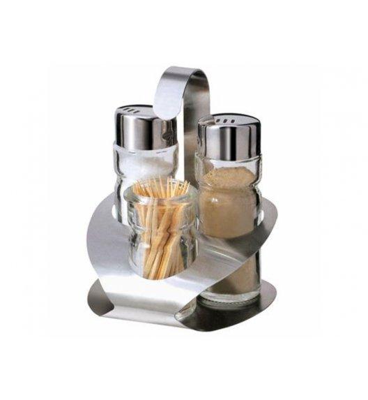 AMBITION LINDI Komplet przyprawników do soli i pieprzu 4 el / szkło / 29363