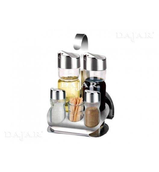 AMBITION LINDI Komplet przyprawników do soli i pieprzu 7 el / szkło / 29365