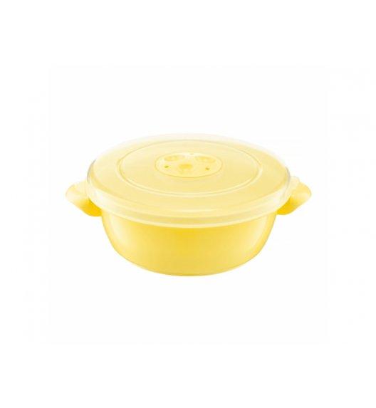 AMBITION SMART Garnek do kuchenki mikrofalowej 1 L / żółty / tworzywo sztuczne / 698894