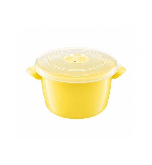 AMBITION SMART Garnek do kuchenki mikrofalowej 1,5 L / żółty / tworzywo sztuczne / 698895