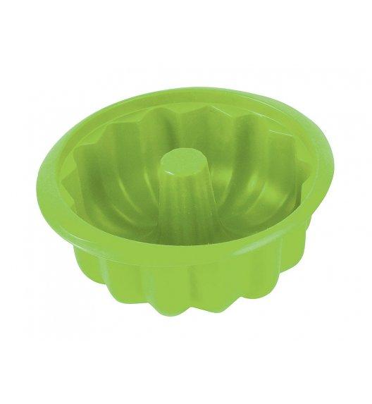 AMBITION DELICE Forma na babkę 20,6 cm / zielona / silikon / 99198