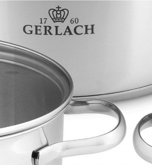 GERLACH VIVA Komplet Garnki z pokrywkami 8 el + Garnek 7L Gerlach Simple + brytfanna 32 cm z pokrywką Gerlach Granitex / powłoka ILAG Granitec®