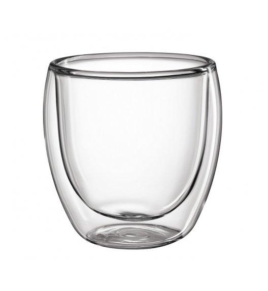 WYPRZEDAŻ! CILIO 2 szklanki o podwójnych ściankach / szkło borokrzemowe 250 ml / FreeForm
