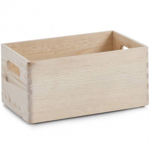 ZELLER Organizer / pojemnik wielofunkcyjny / drewno sosnowe