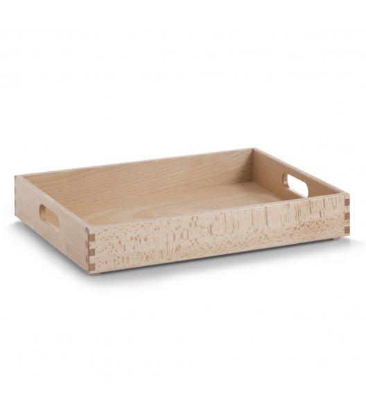 ZELLER Taca / organizer do przenoszenia / drewno bukowe