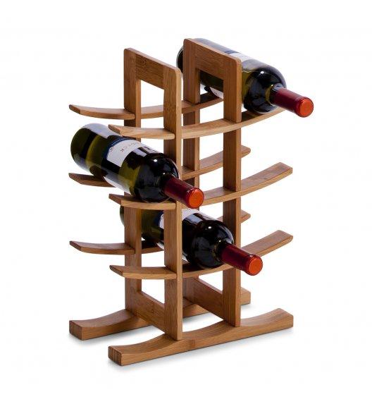 ZELLER Stojak / regał na wino 60 x 29 x 50 cm / drewno bambusowe