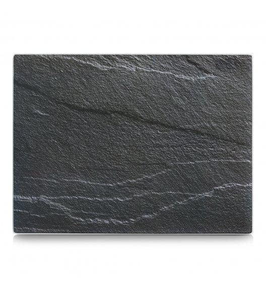 ZELLER SCHIEFER Szklana deska do krojenia i serwowania 30 x 40 cm