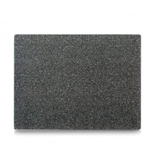 ZELLER GRANIT Szklana deska do krojenia i serwowania 30 x 40 cm