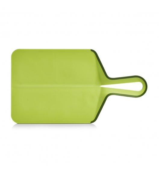 ZELLER Składana deska do krojenia 39 x 21,5 cm / zielona / tworzywo sztuczne