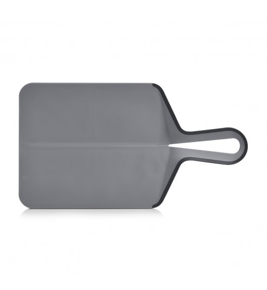 ZELLER Składana deska do krojenia 39 x 21,5 cm / szara / tworzywo sztuczne