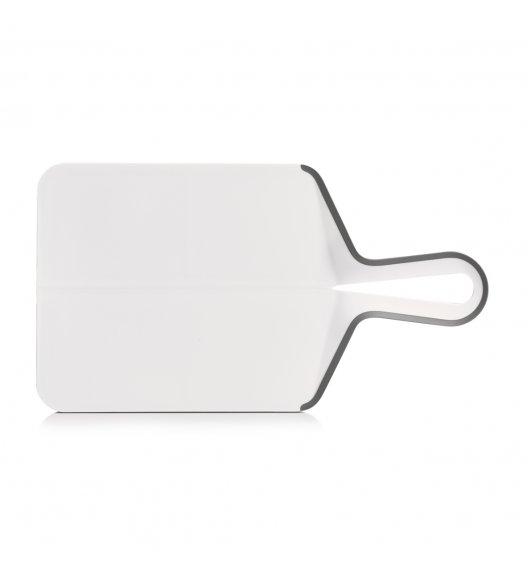 ZELLER Składana deska do krojenia 39 x 21,5 cm / biała / tworzywo sztuczne