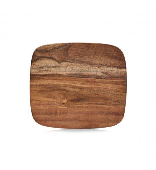 ZELLER Deska do krojenia 28 x 25 cm / drewno akacjowe