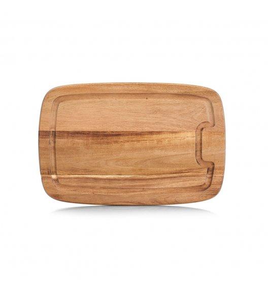ZELLER Deska do krojenia 21 x 32 cm / drewno akacjowe