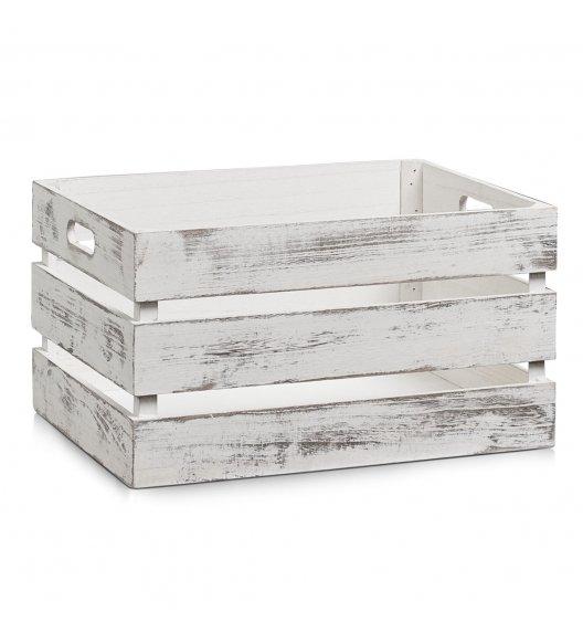 ZELLER Skrzynka / pudełko drewniane 29 x 39 x 21 cm / styl vintage