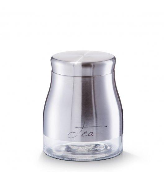 ZELLER TEA Pojemnik na herbatę ø 11,5 cm / stal nierdzewna
