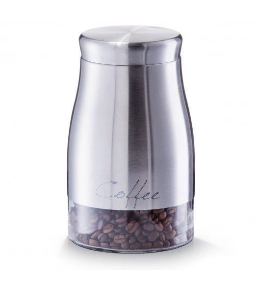 ZELLER COFFEE Pojemnik na kawę ø 11,5 cm / stal nierdzewna