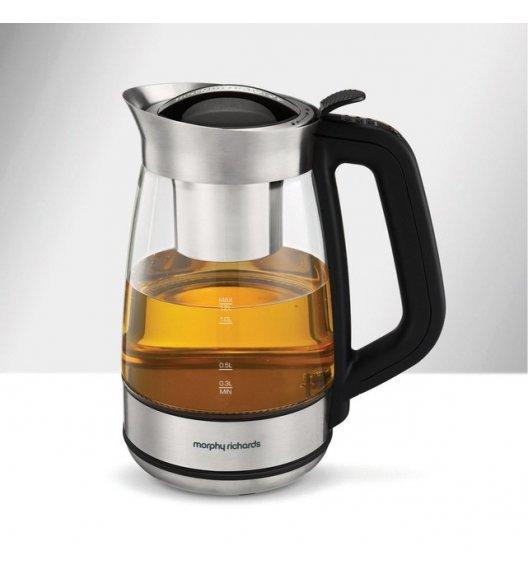 MORPHY RICHARDS Zaparzacz do herbaty 1,2 l / szkło