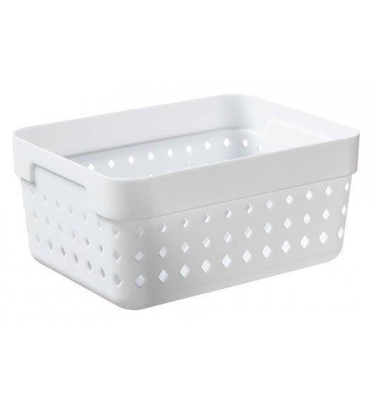 PLAST TEAM SOUL Organizer / koszyk 15,8 x 11,8 x 7,3 cm / biały / DELHAN
