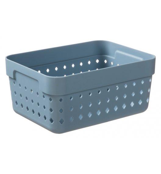 PLAST TEAM SOUL Organizer / koszyk 15,8 x 11,8 x 7,3 cm / niebieski / DELHAN