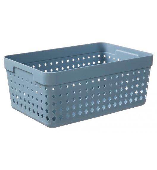 PLAST TEAM SOUL Organizer / koszyk 23,8 x 15,8 x 10 cm / niebieski / DELHAN