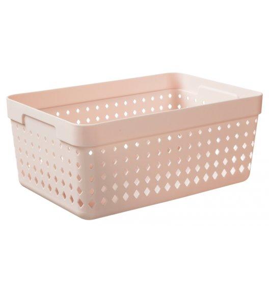PLAST TEAM SOUL Organizer / koszyk 23,8 x 15,8 x 10 cm / pudrowy / DELHAN
