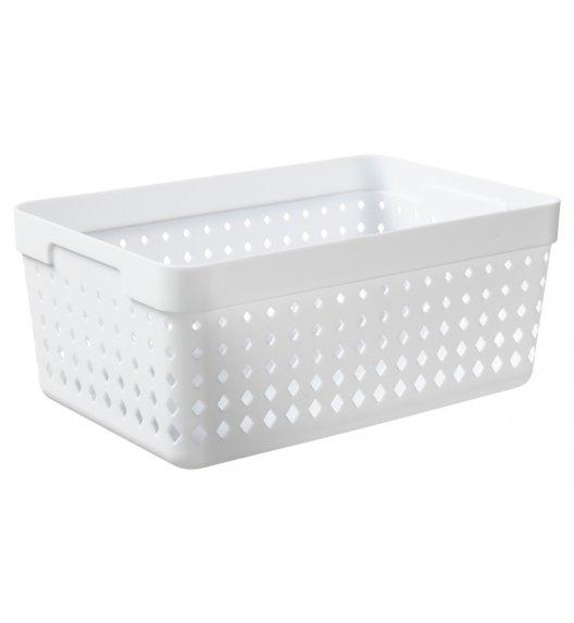PLAST TEAM SOUL Organizer / koszyk 23,8 x 15,8 x 10 cm / biały / DELHAN