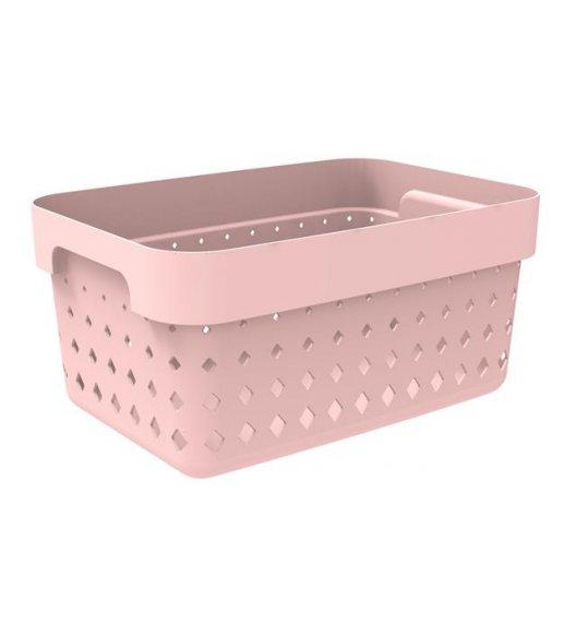 PLAST TEAM SOUL Organizer / koszyk 26 x 18 x 12,6 cm / pudrowy / DELHAN