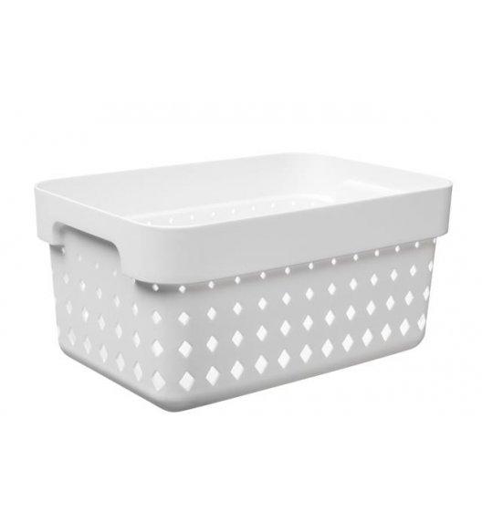 PLAST TEAM SOUL Organizer / koszyk 26 x 18 x 12,6 cm / biały / DELHAN