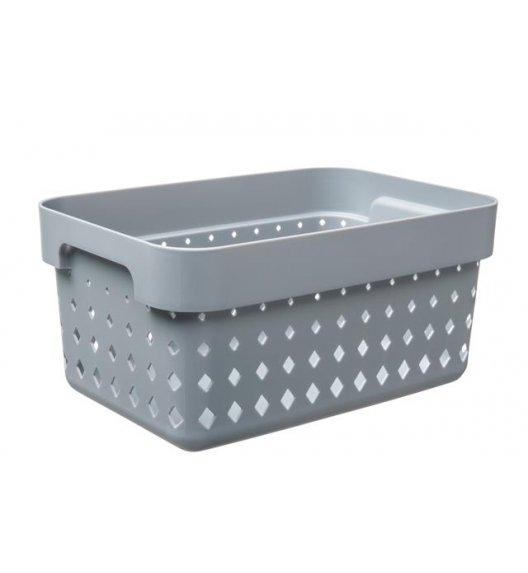 PLAST TEAM SOUL Organizer / koszyk 26 x 18 x 12,6 cm / szary / DELHAN