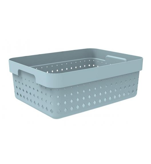 PLAST TEAM SOUL Organizer / koszyk 36 x 27 x 13 cm / niebieski / DELHAN
