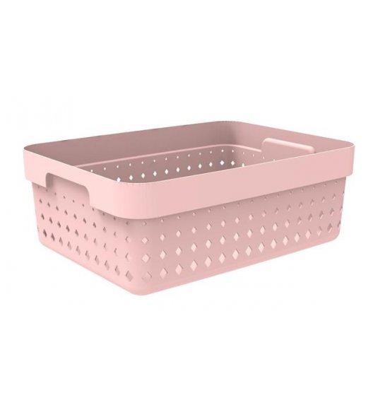 PLAST TEAM SOUL Organizer / koszyk 36 x 27 x 13 cm / pudrowy / DELHAN
